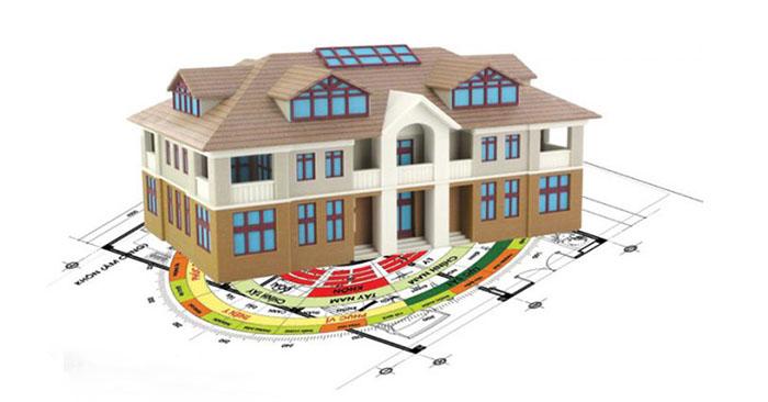 Phong thủy ứng dụng: Phân gian nhà mang lại vận may và bình an