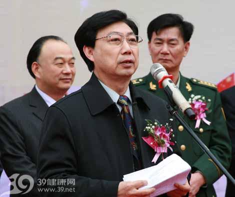Cục trưởng Cục Quân Y thuộc Tổng Cục hậu cần của Quân đội Trung Quốc Bạch Thư Trung (Ảnh: 39.net)