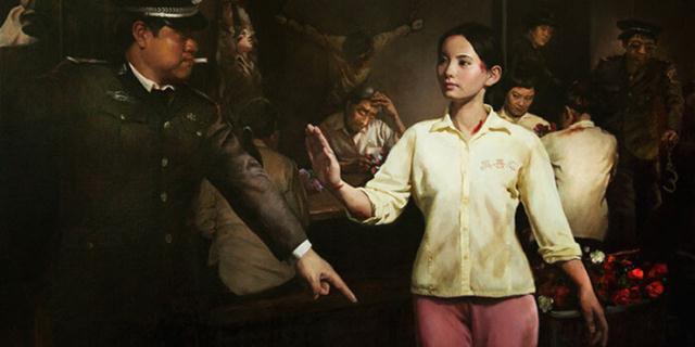 """""""Đằng sau vẻ đẹp – sản phẩm của các nô nệ trong tù"""". Tác giả Vương Huệ Mẫn."""