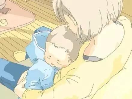 Hạnh phúc là khi được thấy con ngủ bình yên trong lòng mẹ...