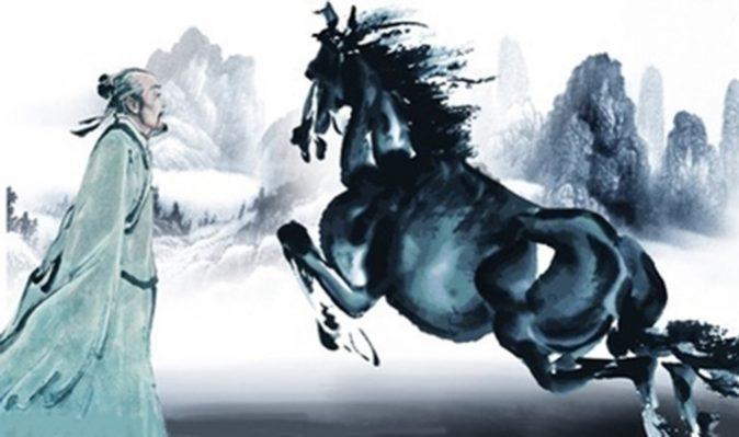 Bá Nhạc xem tướng ngựa cho vua