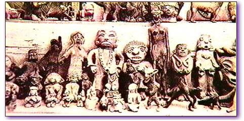 Những bức tượng bằng đất sét kì lạ 1500 năm tuổi,