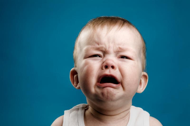 Trẻ khóc nhè