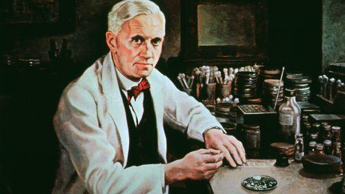 Alexander Fleming, nhà sáng chế ra Penicillin.