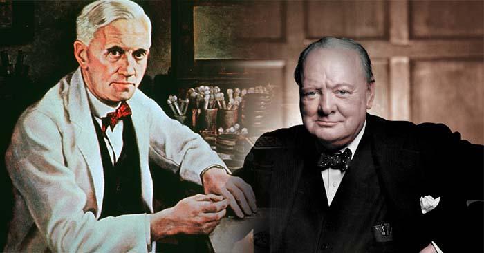Câu chuyện ly kỳ về nhân duyên giữa vị Thủ tướng Anh và chủ nhân giải Nobel Y học năm 1945