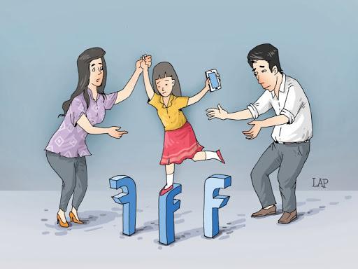Truyền thông xã hội đang làm suy giảm đạo đức của trẻ em