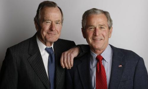 Cha con tổng thống BUsh
