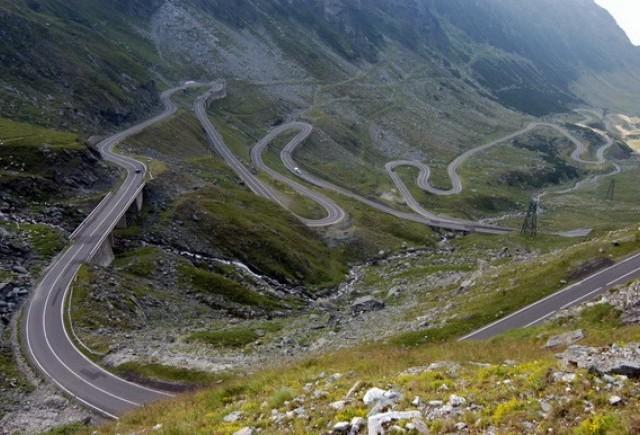 Đường Transfăgărăşanul ở Romania
