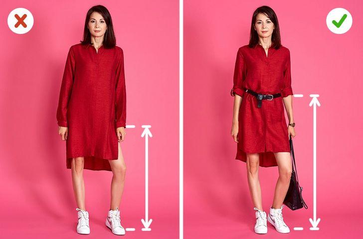 Phối đồ: Mặc váy áo một cách hợp lý