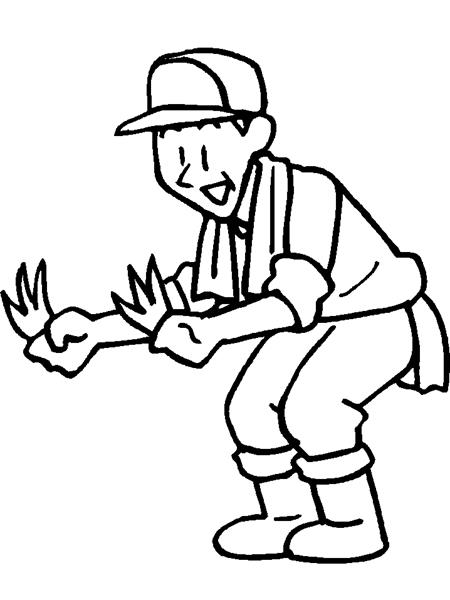 Bác nông dân vui vẻ vì năm nay bội thu